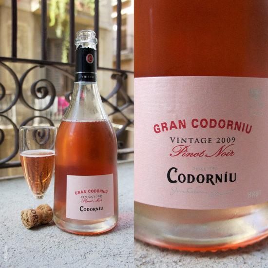 Gran Codorniu Pinot Noir Cava Brut Vintage stilovino