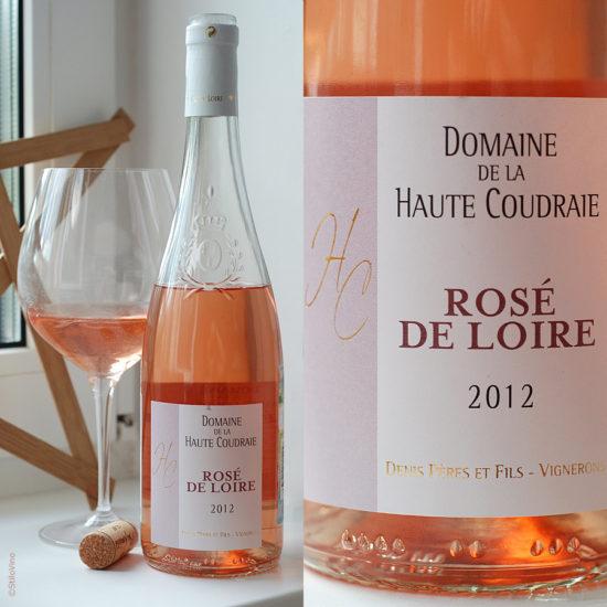 Rose de Loire Domaine de la Haute Coudraie