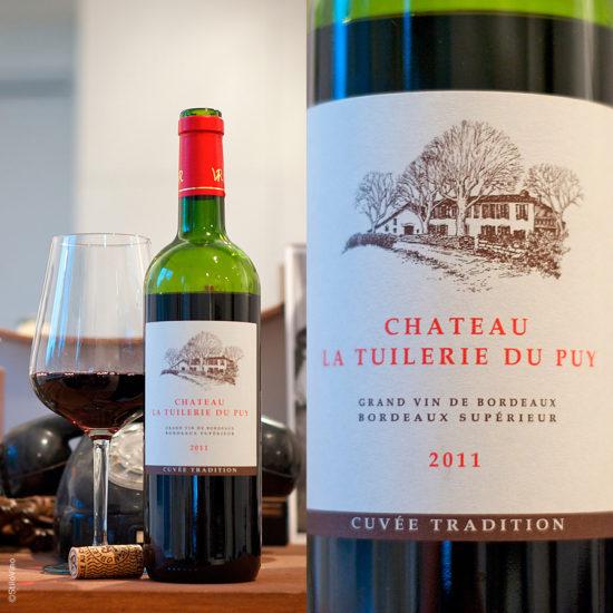 Chateau la Tuilerie du Puy Grand vin de Bordeaux Superieur