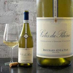 Cotes du Rhone AOC Blanc Bouchard Aine & Fils stilovino