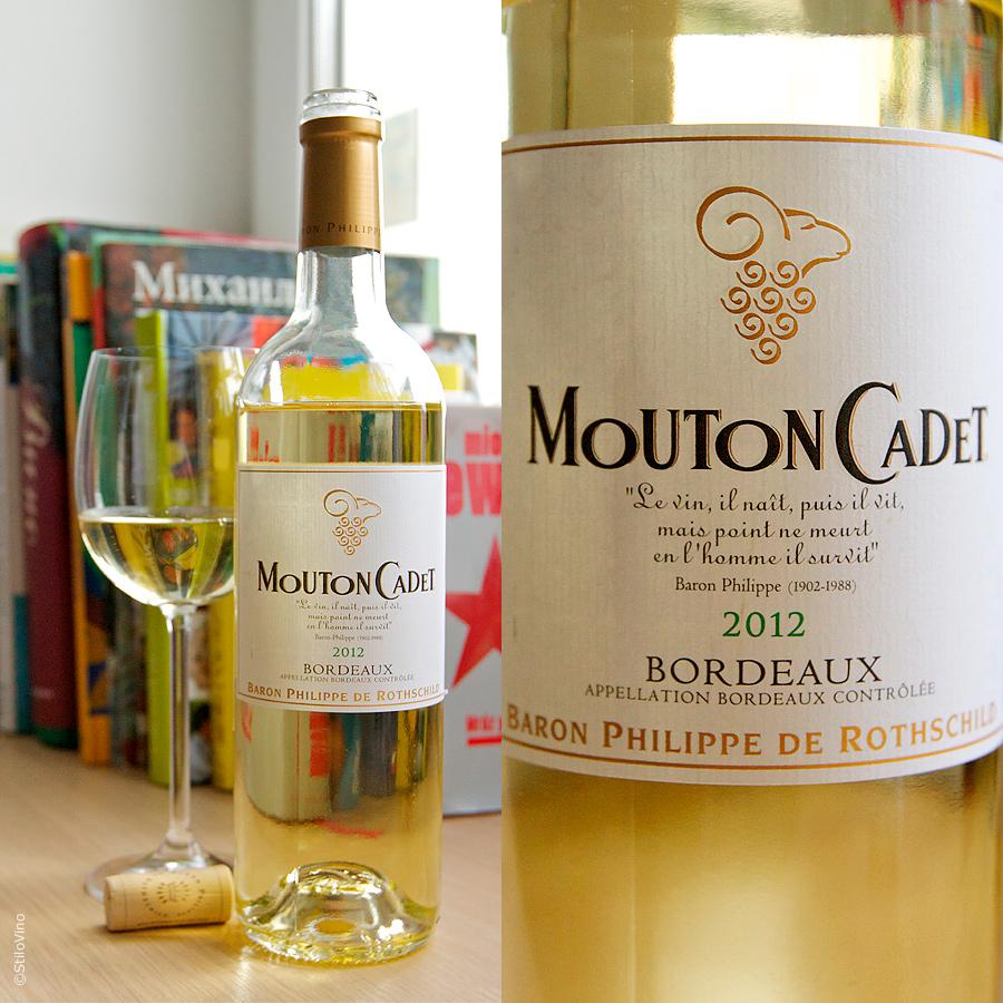 Mouton Cadet AOC Bordeaux Blanc