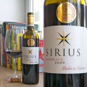 Sirius AOC Bordeaux Rouge stilovino
