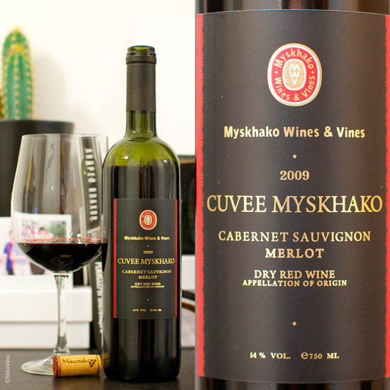 Cuvee Myskhako Cabernet Sauvignon Merlot
