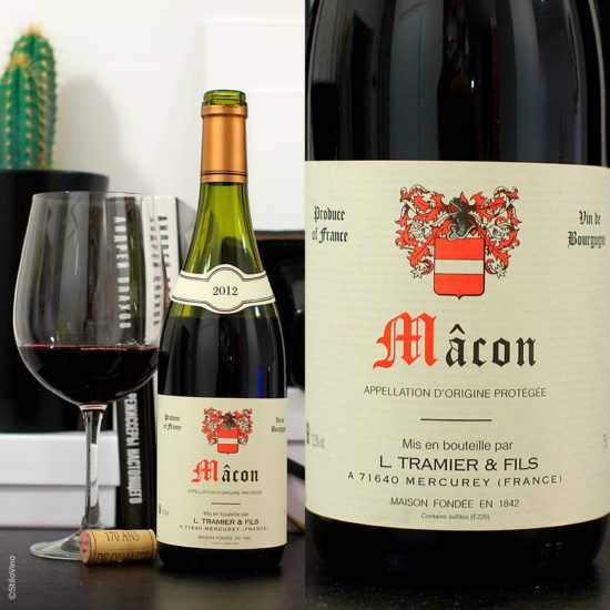 Macon Rouge L Tramier and Fils