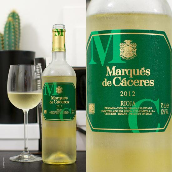Marques de Caceres Blanco stilovino