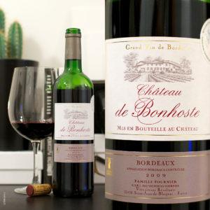 Chateau de Bonhoste Bordeaux Rouge stilovino