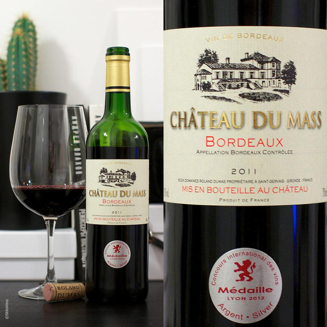 Chateau du Mass Bordeaux stilovino