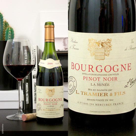 Pinot Noir Tramier and Fils Bourgogne AOC