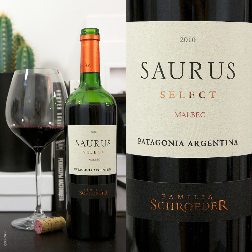 Saurus Patagonia Select Malbec stilovino