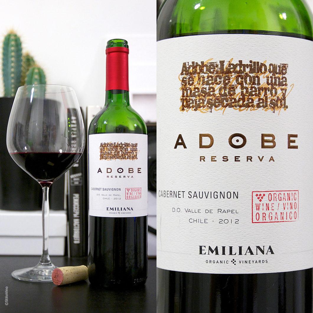 Adobe Cabernet Sauvignon Emiliana stilovino