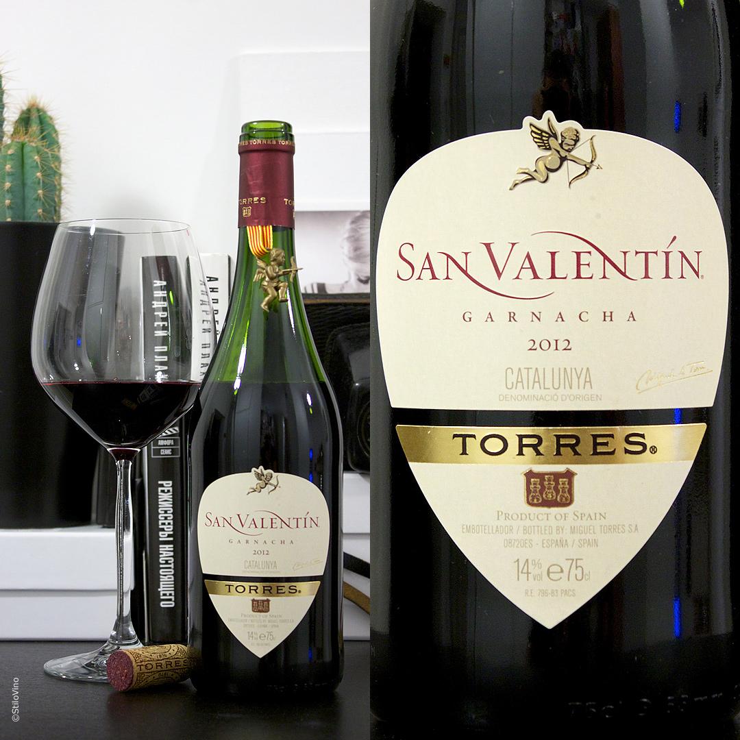 Torres San Valentin Garnacha stilovino