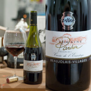 Beaujolais-Villages Rouge Domaine Pardon stilovino