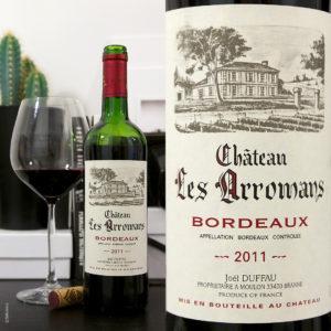 Chateau Les Arromans AOC Bordeaux stilovino