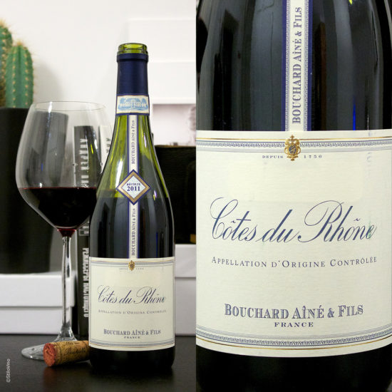 Cotes du Rhone AOC Rouge Bouchard Aine & Fils stilovino