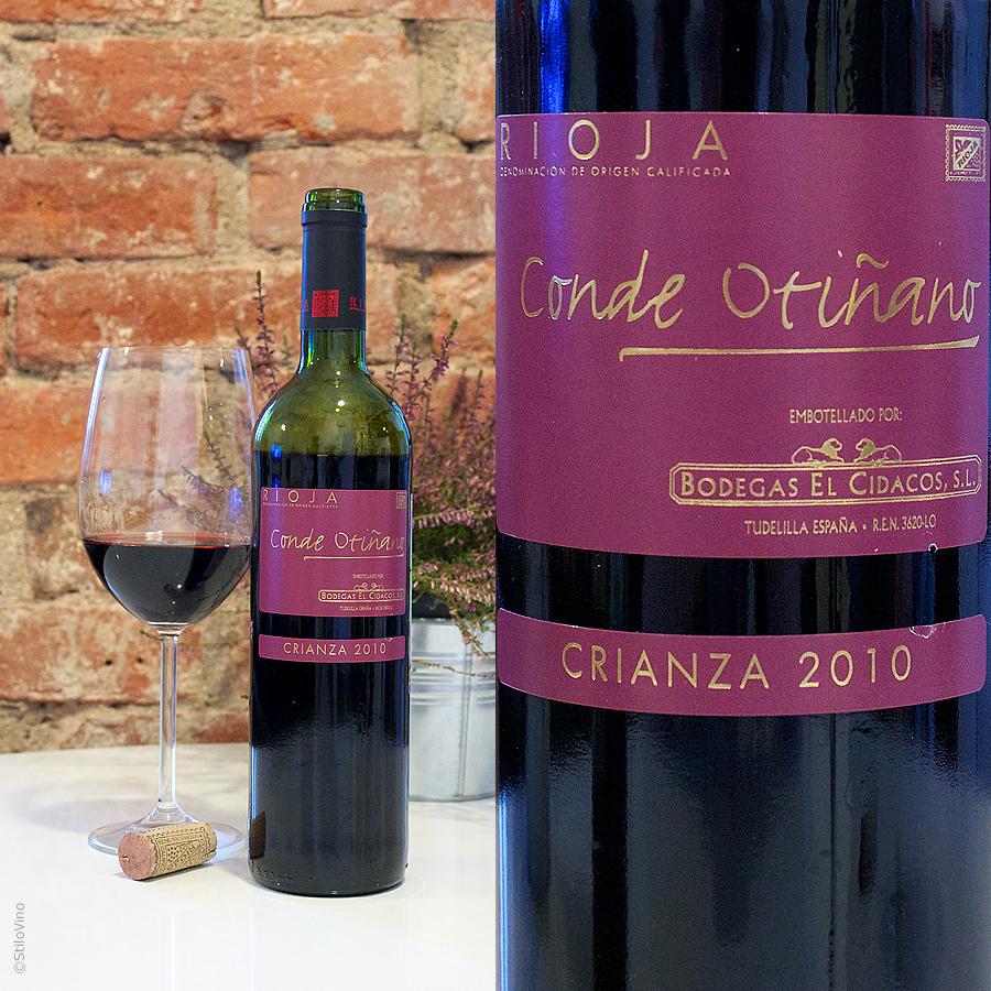 Conde Otinano Rioja Crianza stilovino
