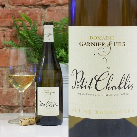 Petit Chablis Domaine Garnier and Fils