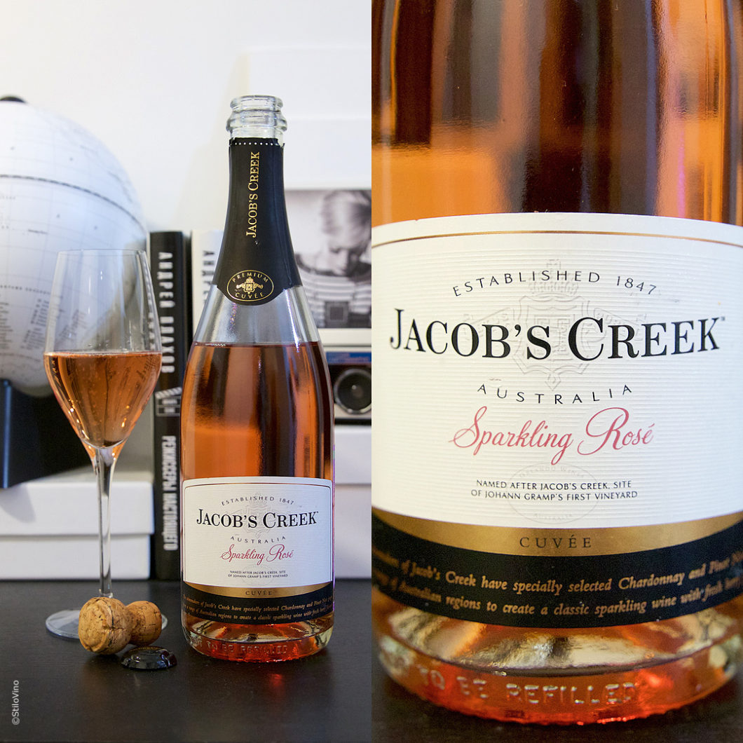 Jacobs Creek Sparkling Rose stilovino