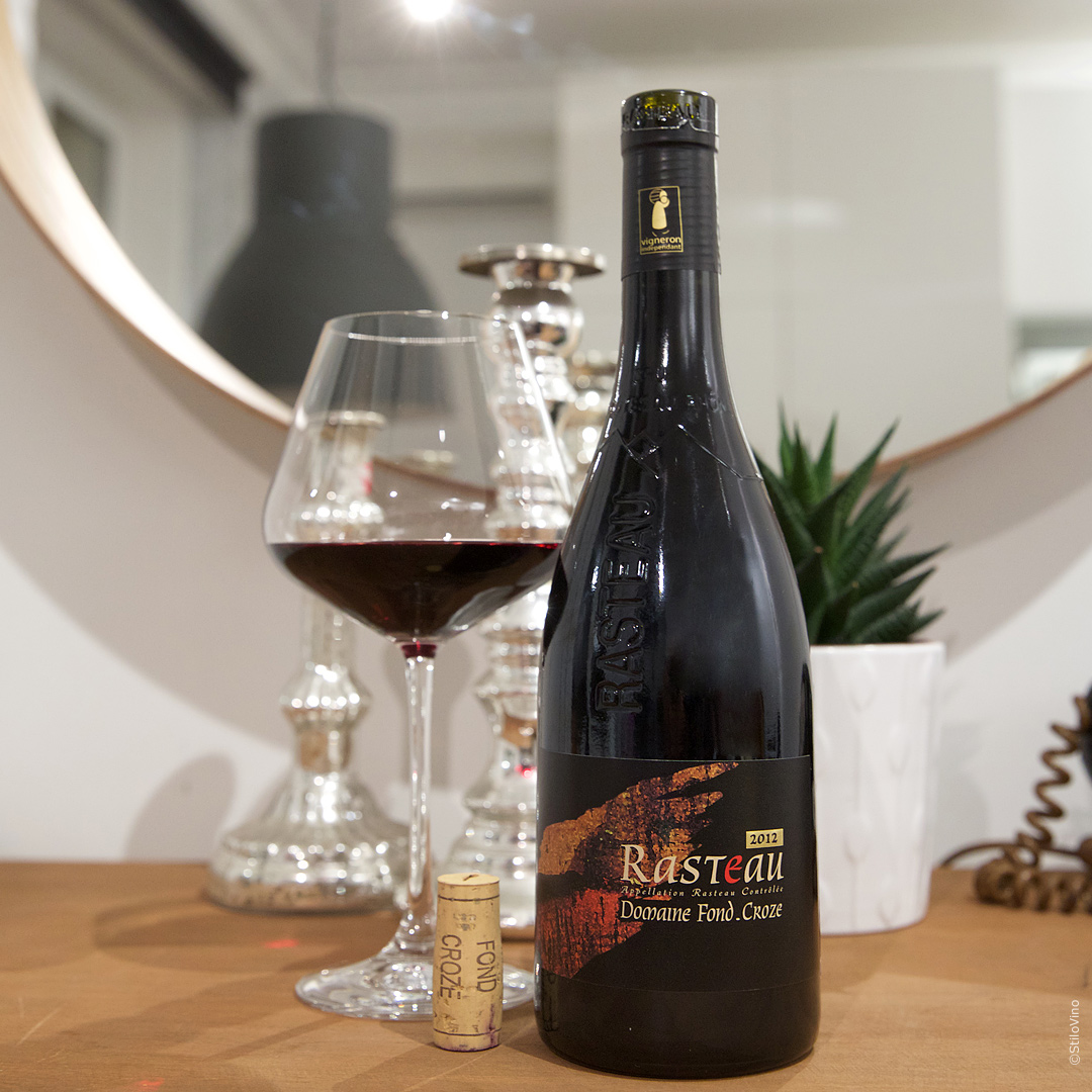 Французское вино DomaineFondCroze Rasteau 2012