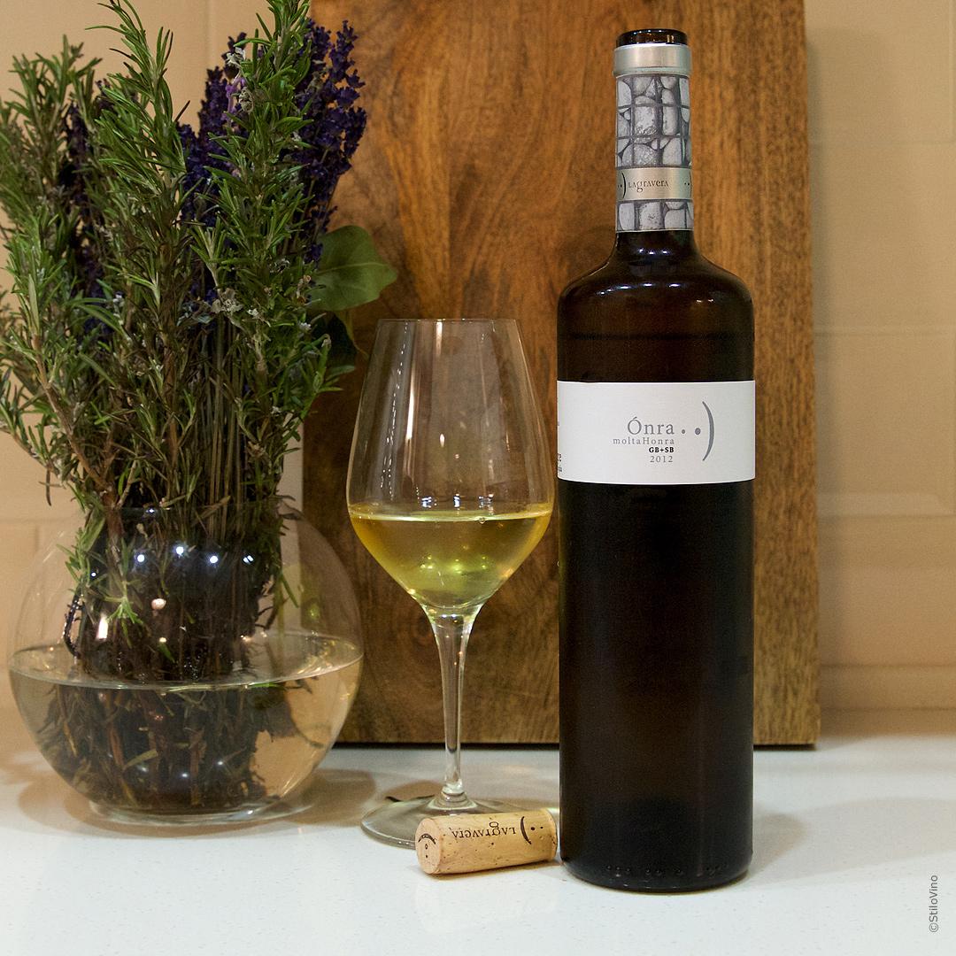 Испанское вино Onra Molta Honra Blanc Lagravera 2012