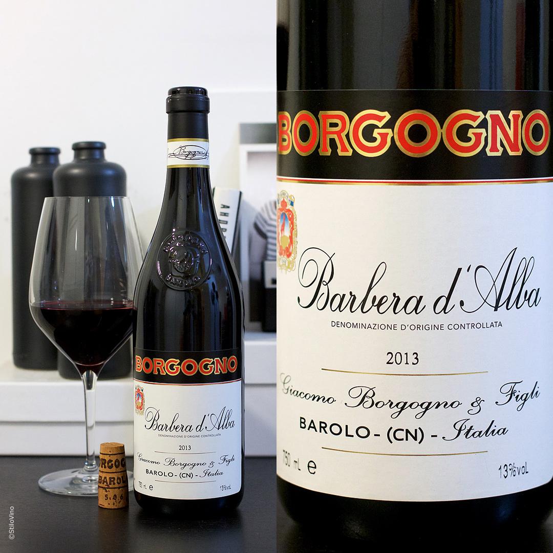 Итальянское вино Borgogno Barbera D'Alba DOC 2013