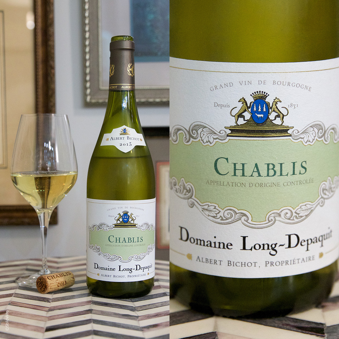 Французское вино Chablis Albert Bichot Domaine Long-Depaquit 2013
