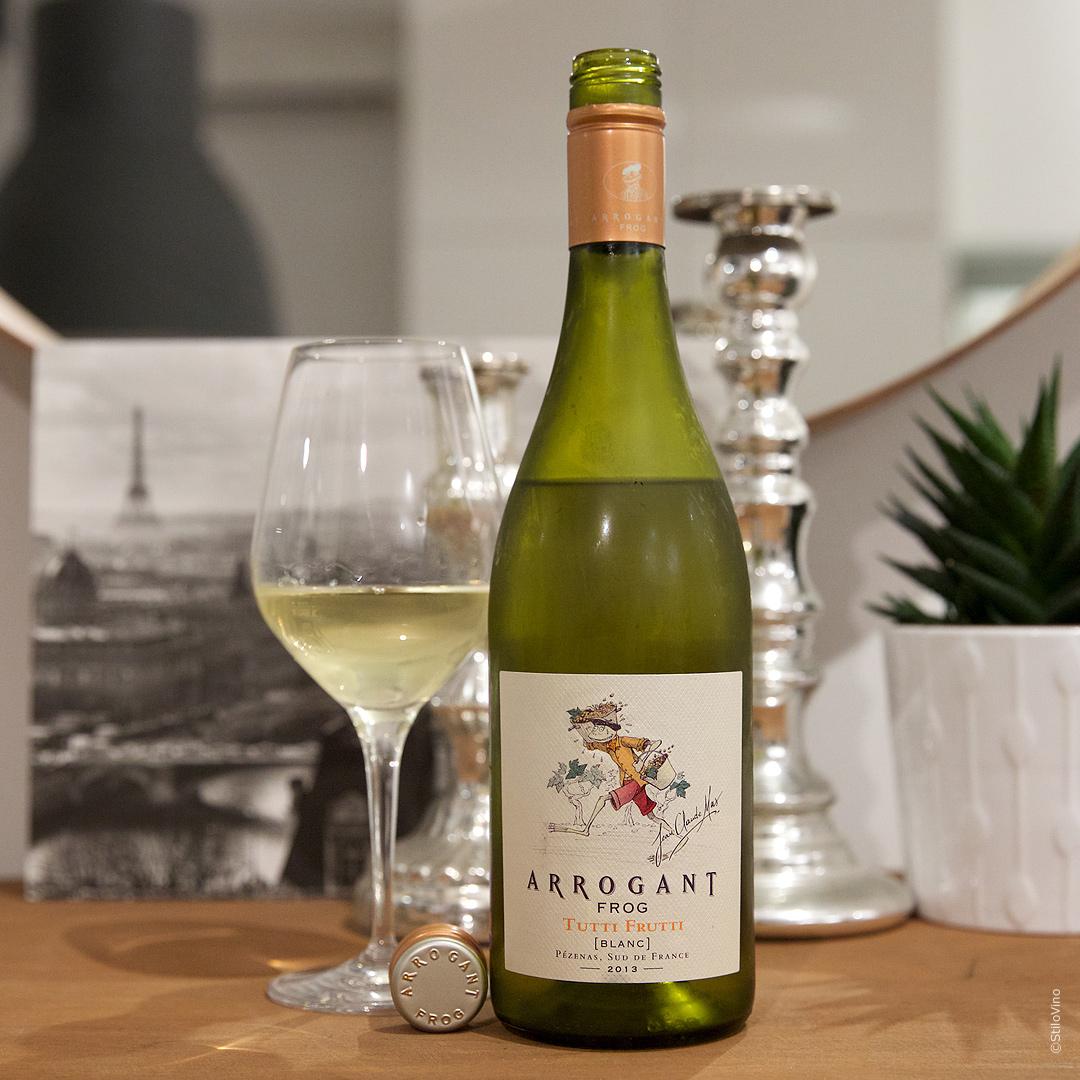 Французское вино Tutti Frutti Arrogant Frog Blanc 2013