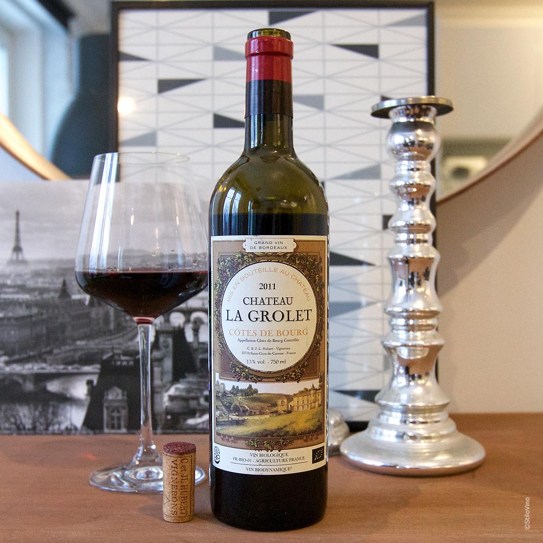 Французское вино Chateau La Grolet Cotes de Bourg 2011