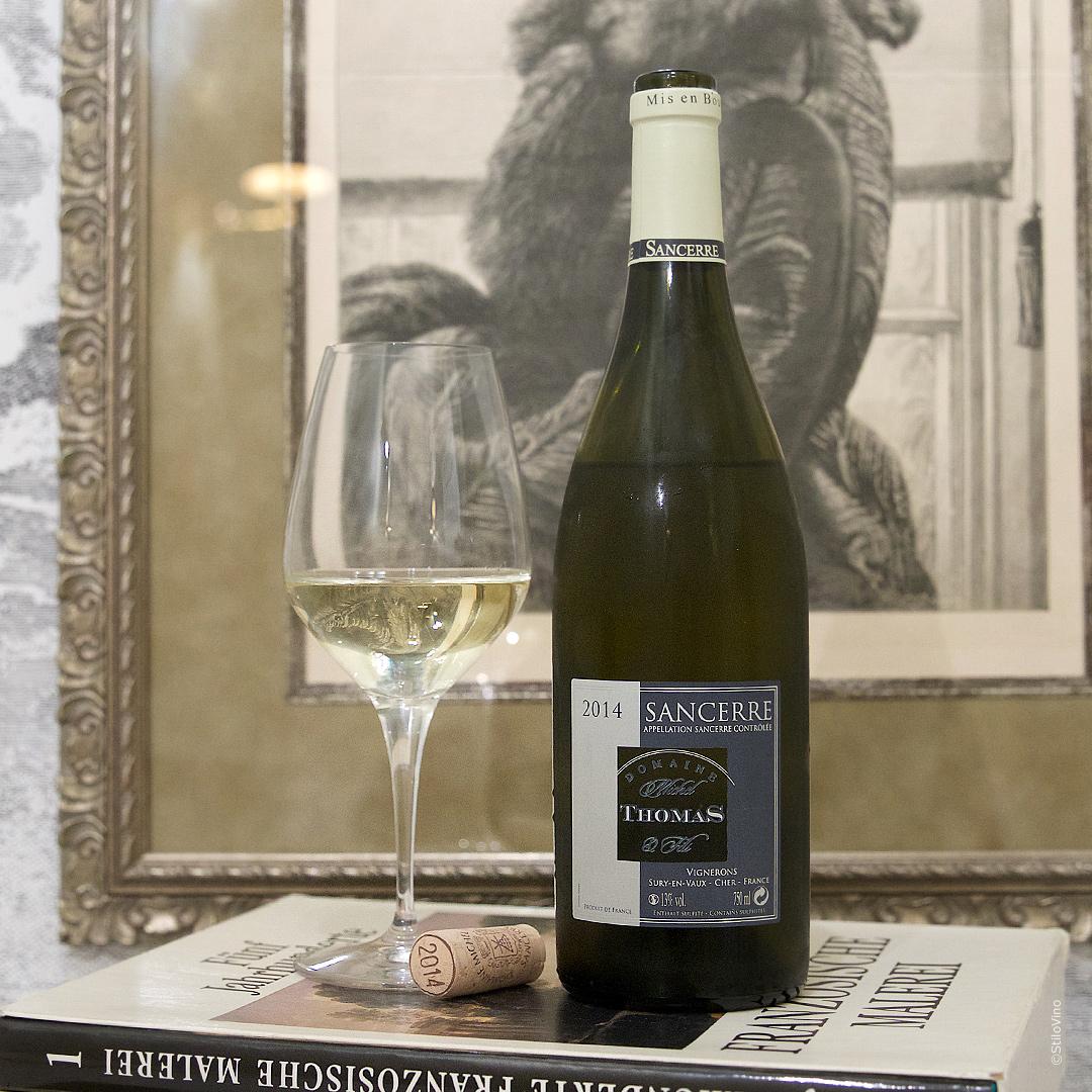 Французское вино Domaine Michel Thomas & Fils Sancerre Blanc 2014