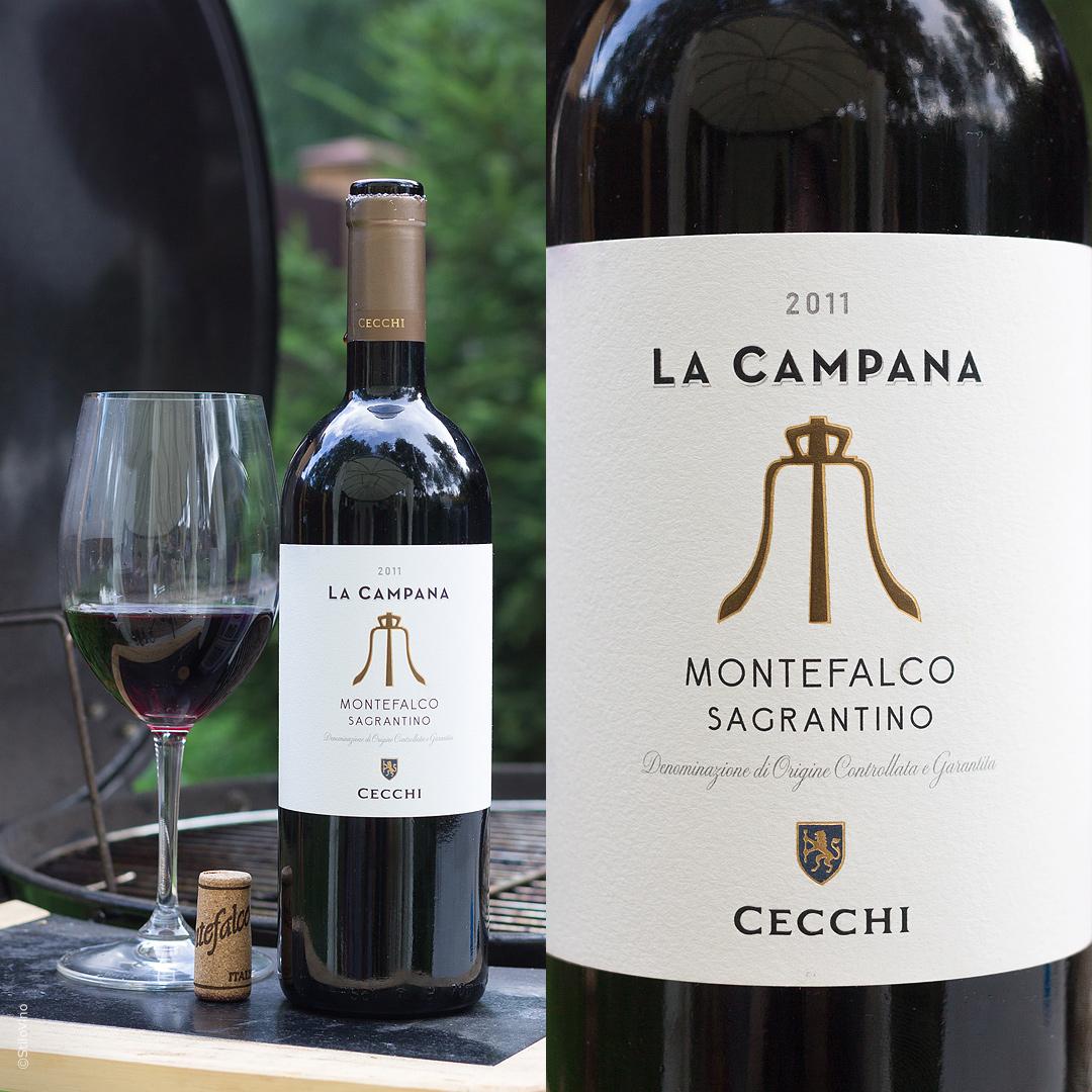 Итальянское вино La Campana Montefalco Sagrantino Cecchi 2011