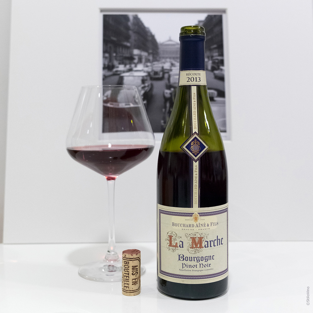 Французское вино La Marche Pinot Noir Bouchard Aine & Fils 2013