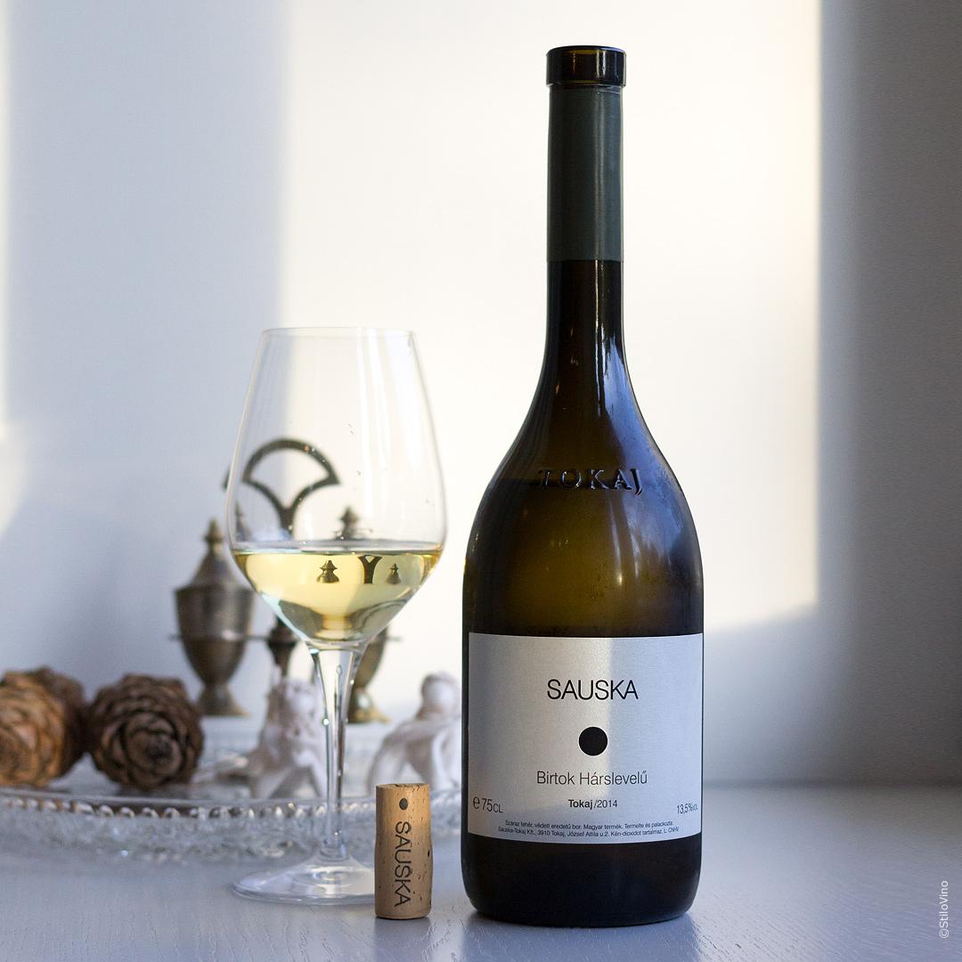 Венгерское вино Sauska Birtok Harslevelu Tokaj 2014