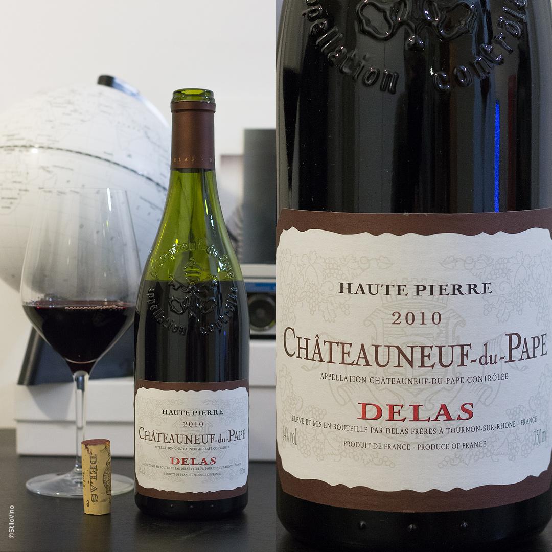 Chateauneuf-du-Pape Haute Pierre Delas 2010