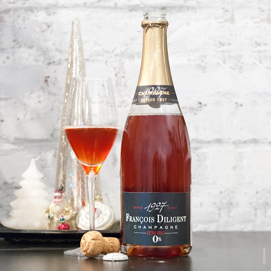 Champagne Francois Diligent Extra Brut stilovino