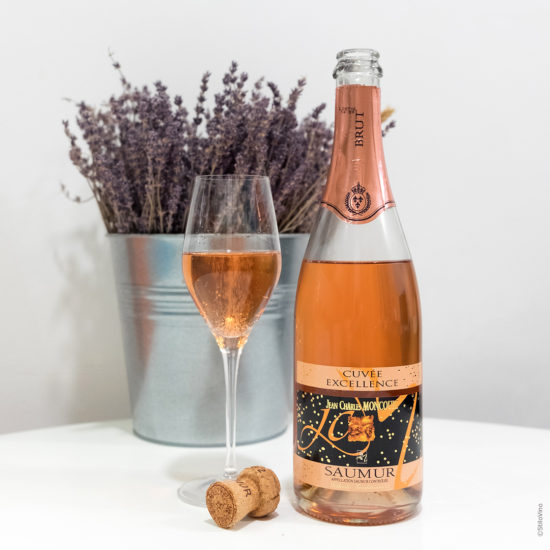 Domaine Moncourt Saumur Methode Traditionnelle Cuvee Excellence Rose stilovino