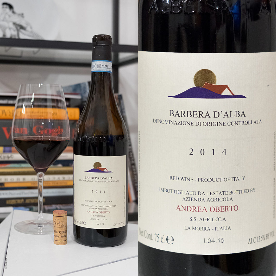 Andrea Oberto Barbera d'Alba DOC stilovino